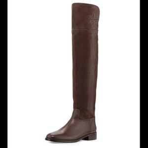 Tory Burch Simone Over The Knee Boot Brown (7)